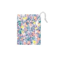 Softly Floral C Drawstring Pouches (XS)
