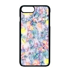 Softly Floral C Apple Iphone 7 Plus Seamless Case (black)