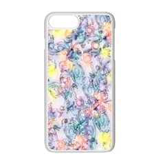 Softly Floral C Apple iPhone 7 Plus White Seamless Case