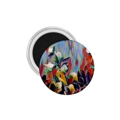 Abstractionism Spring Flowers 1.75  Magnets