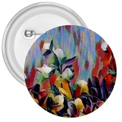Abstractionism Spring Flowers 3  Buttons