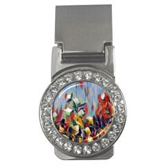 Abstractionism Spring Flowers Money Clips (CZ)