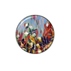 Abstractionism Spring Flowers Hat Clip Ball Marker (10 pack)