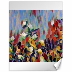 Abstractionism Spring Flowers Canvas 18  x 24