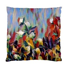 Abstractionism Spring Flowers Standard Cushion Case (One Side)