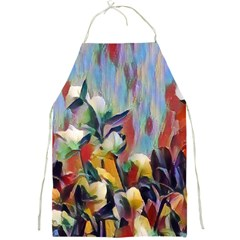 Abstractionism Spring Flowers Full Print Aprons