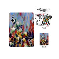 Abstractionism Spring Flowers Playing Cards 54 (Mini)