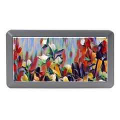 Abstractionism Spring Flowers Memory Card Reader (Mini)