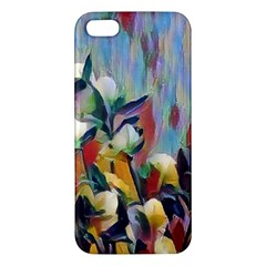Abstractionism Spring Flowers Apple iPhone 5 Premium Hardshell Case