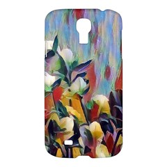 Abstractionism Spring Flowers Samsung Galaxy S4 I9500/I9505 Hardshell Case