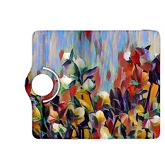 Abstractionism Spring Flowers Kindle Fire HDX 8.9  Flip 360 Case