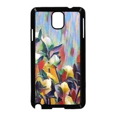 Abstractionism Spring Flowers Samsung Galaxy Note 3 Neo Hardshell Case (Black)