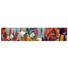 Abstractionism Spring Flowers Flano Scarf (Small)