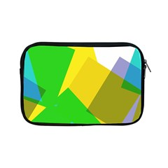Green yellow shapes  Apple iPad Mini Protective Soft Case