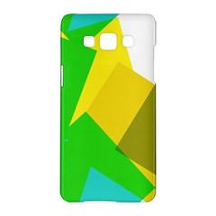 Green yellow shapes  LG L90 D410 Hardshell Case
