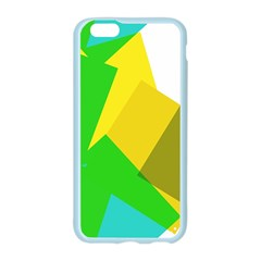 Green yellow shapes  Samsung Galaxy Tab S (8.4 ) Hardshell Case