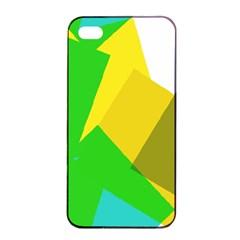 Green yellow shapes  Sony Xperia Z3+ Hardshell Case