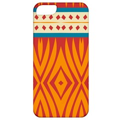 Shapes in retro colors Apple iPhone 5 Hardshell Case (PC+Silicone)