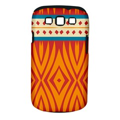 Shapes In Retro Colors Samsung Galaxy S Ii I9100 Hardshell Case (pc+silicone)