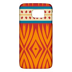 Shapes in retro colors HTC One M9 Hardshell Case