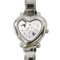 A Beautiful Sorrow Heart Italian Charm Watch