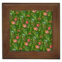 Sunny Garden I Framed Tiles