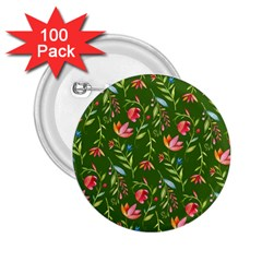 Sunny Garden I 2 25  Buttons (100 Pack)