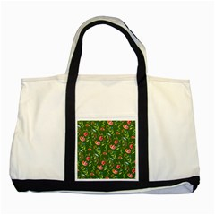 Sunny Garden I Two Tone Tote Bag