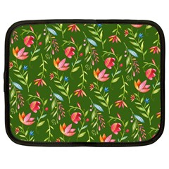 Sunny Garden I Netbook Case (Large)