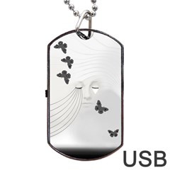 A Beautiful Sorrow Dog Tag USB Flash (One Side)