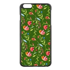 Sunny Garden I Apple iPhone 6 Plus/6S Plus Black Enamel Case