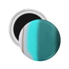 Turquoise Abstract 2.25  Magnets