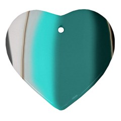 Turquoise Abstract Ornament (Heart)
