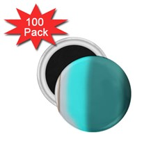 Turquoise Abstract 1.75  Magnets (100 pack)