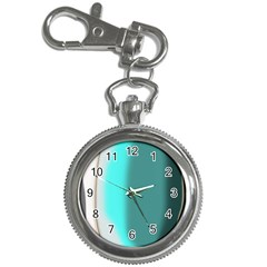 Turquoise Abstract Key Chain Watches