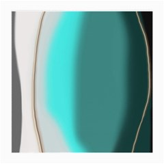 Turquoise Abstract Medium Glasses Cloth (2-Side)