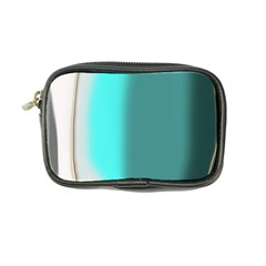 Turquoise Abstract Coin Purse