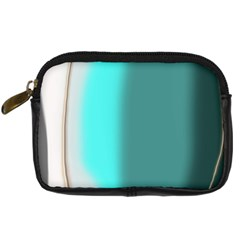 Turquoise Abstract Digital Camera Cases