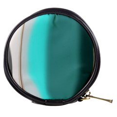 Turquoise Abstract Mini Makeup Bags