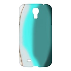 Turquoise Abstract Samsung Galaxy S4 I9500/I9505 Hardshell Case