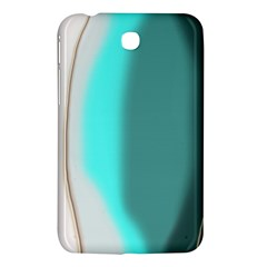 Turquoise Abstract Samsung Galaxy Tab 3 (7 ) P3200 Hardshell Case