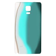 Turquoise Abstract Galaxy Note 4 Back Case