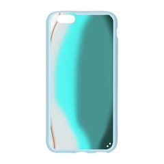 Turquoise Abstract Apple Seamless iPhone 6/6S Case (Color)