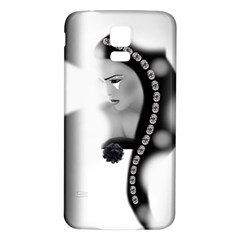 Silence Of Beauty Samsung Galaxy S5 Back Case (White)