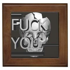 Fuck You Framed Tiles