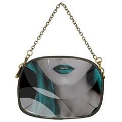 Turquoise Angel Chain Purses (One Side)