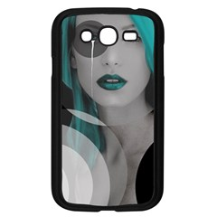 Turquoise Angel Samsung Galaxy Grand Duos I9082 Case (black)