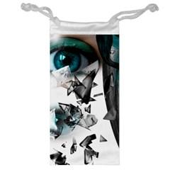 Blue Eye Jewelry Bag