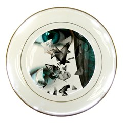 Blue Eye Porcelain Plates
