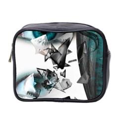 Blue Eye Mini Toiletries Bag 2-Side